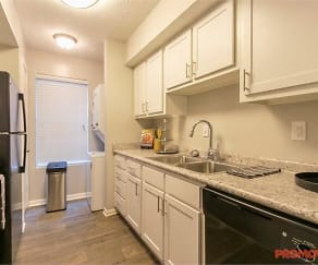 Kitchen, Enclave at Roswell