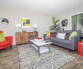 Living Room, The Elliott at College Park