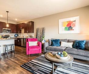 Living Room, 360 at Jordan West