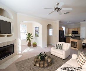 Living Room, Park Lane Apartments