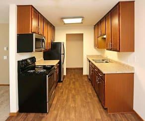 Kitchen, Eagle Ridge Apartments