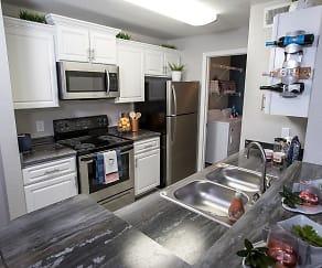 Kitchen, Riverwood Apartment