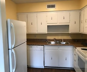 Kitchen, Sharlton Manor Apartments