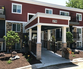 Building, Whispering Pond Apartments