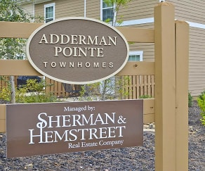 Community Signage, Adderman Pointe