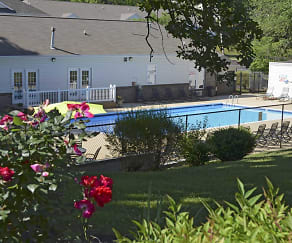 Pool, Briarcliff At West Hills Apartments of Knoxville