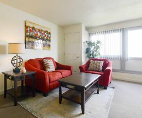 Living Room, Riverbend Apts