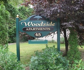 Landscaping, Woodside Apartments
