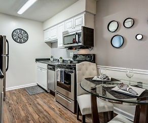 Kitchen, Ridgewood Apartments