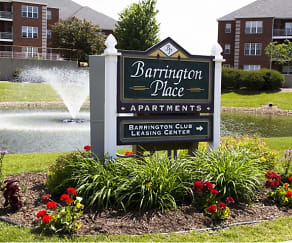 Community Signage, Barrington Place Apartments