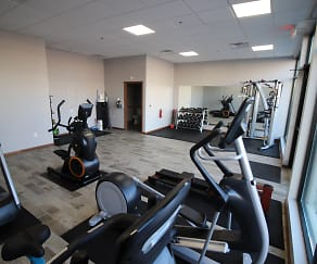 Fitness Weight Room, Mequon Town Center Apartments
