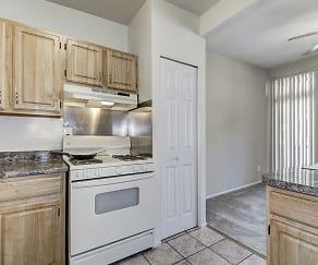 Kitchen, Wheaton House Apartments