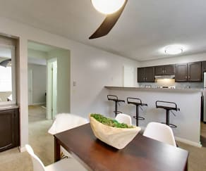 Kitchen, Wellington Place Townhomes