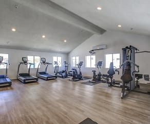 Fitness Weight Room, Fountain View Apartments