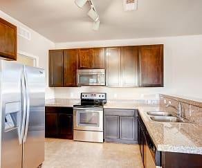 Kitchen, Maple Leaf Apartments