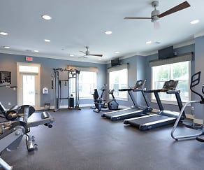 Fitness Weight Room, Addison Court Apartments