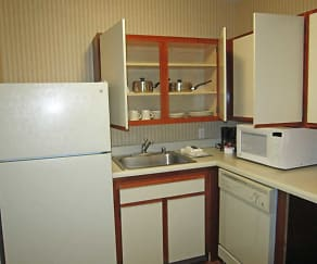 Kitchen, Furnished Studio - El Paso - West