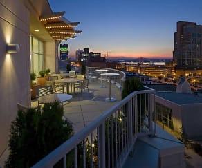 View, Fleur De Lis on Main Condominiums
