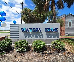 Community Signage, Water's Edge