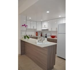 Kitchens with Quartz Countertops and Two-Toned Cabinetry, Pompano Palms