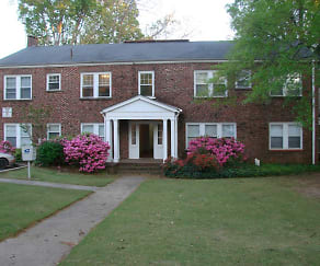 Building, College View Apartments