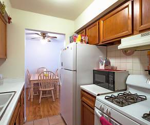 Kitchen, Kenosha Apartments