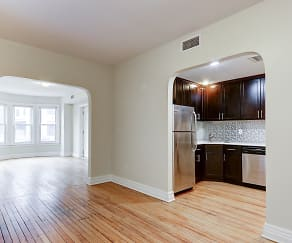 Dining Room, Wayne & Waldorf Apartments
