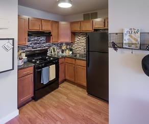Kitchen, CityView Apartments