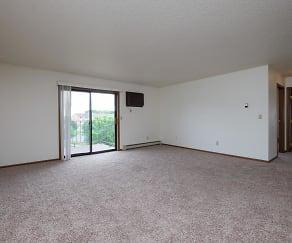 Living Room, Carlton Apartments