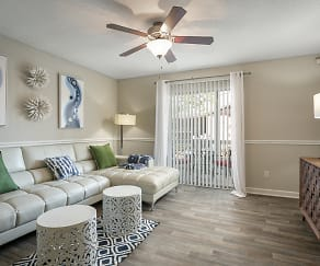 Living Room, The Park at Callington & Caryle