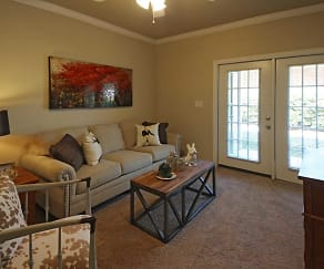 Living Room, Turnberry Place at Bluebonnet