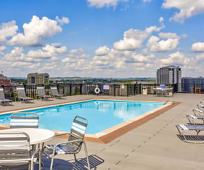 Pool, Americana Apartments