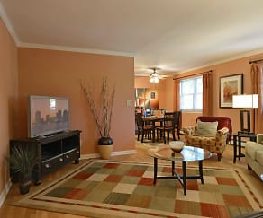 Living Room, Wingate Apartments