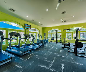 Fitness Weight Room, Pinnacle Terrace