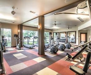 Fitness Weight Room, Highland Park West Lemmon
