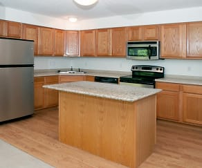 Kitchen, Raspberry Woods Townhomes