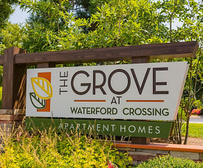 Community Signage, The Grove at Waterford Crossing