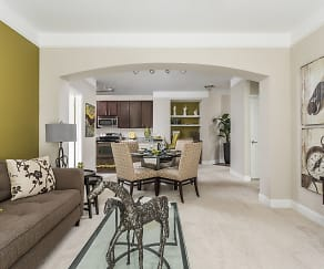 Spacious Open Living and Dining Room - Creekstone at RTP, Creekstone at RTP