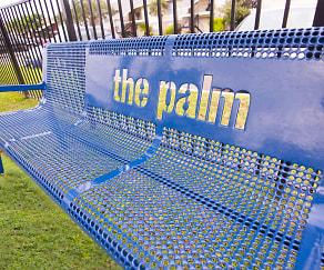 Community Signage, The Palm on South Padre Island Drive