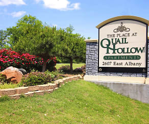Community Signage, The Place at Quail Hollow