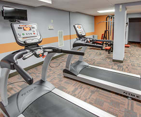 Fitness Weight Room, Stepny Place Apartments