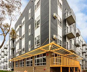 Building, University Flats