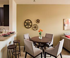 Dining Room, Avalon Shelton