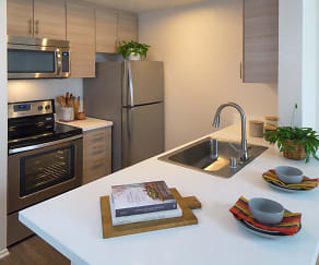 Kitchen, Harborview Apartment Homes
