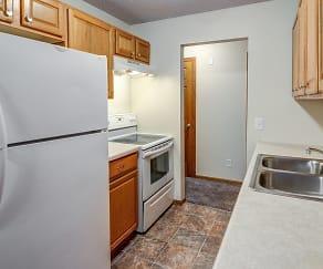 Kitchen, Burnsville Pointe Apartments