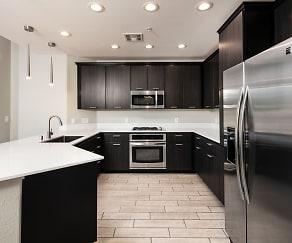Kitchen, The Gramercy Residences