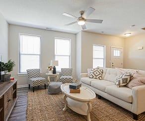 Living Room, The Cove At Prairie Trail