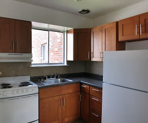 Kitchen, The Osborne Apartments