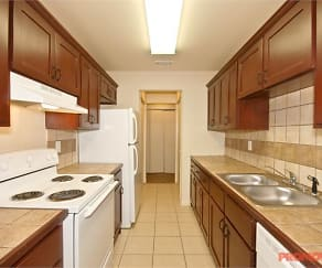 Kitchen, Esquire Apartments
