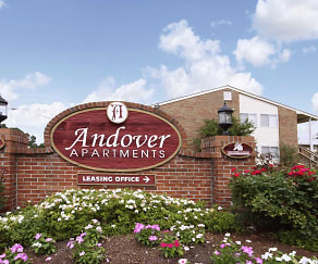 Community Signage, Andover Apartments